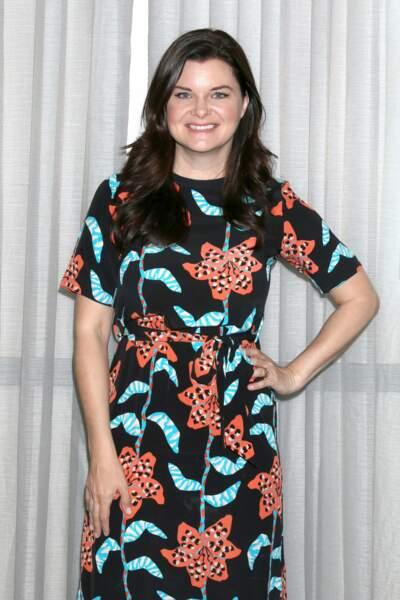 Heather Tom lors d'une soirée consacrée au feuilleton en juin 2019