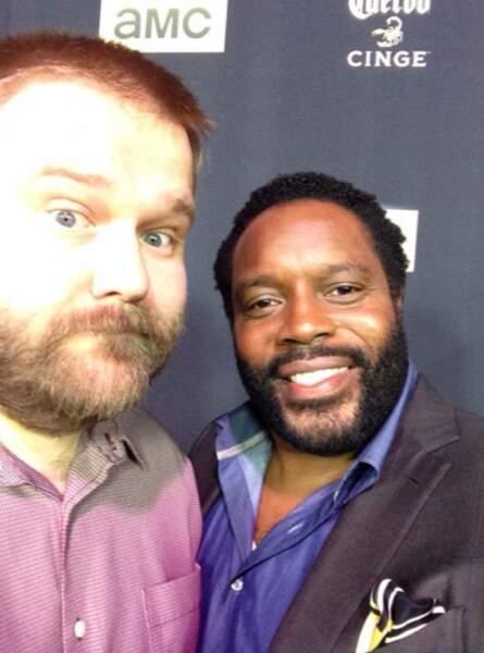 Robert Kirkman (créateur du comics The Walking Dead) et Chad L. Coleman
