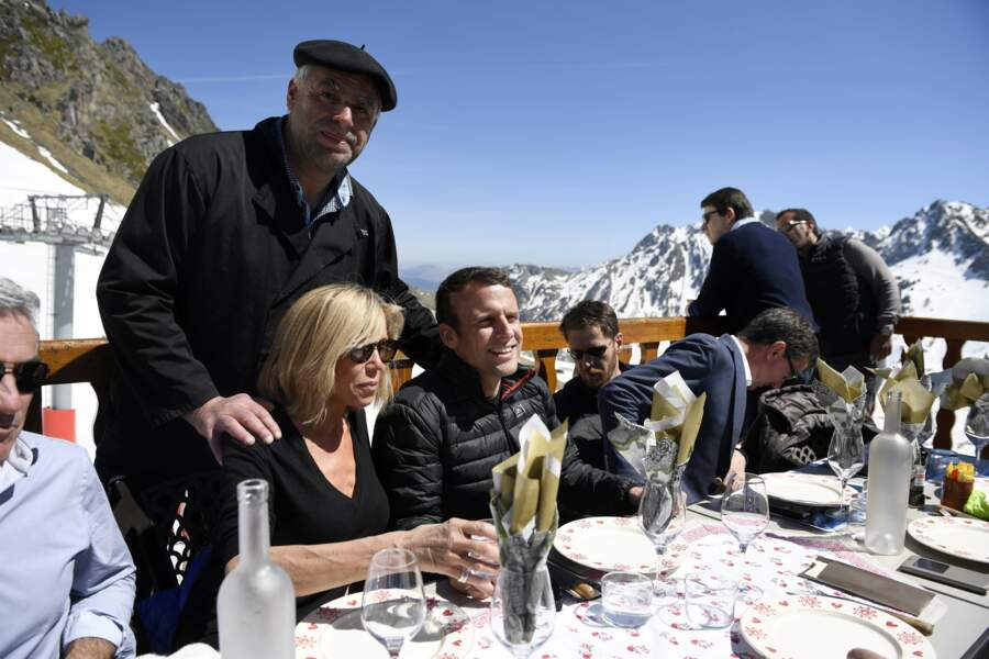 L'occasion pour les deux mariés de profiter d'un déjeuner et d'une vue magnifique