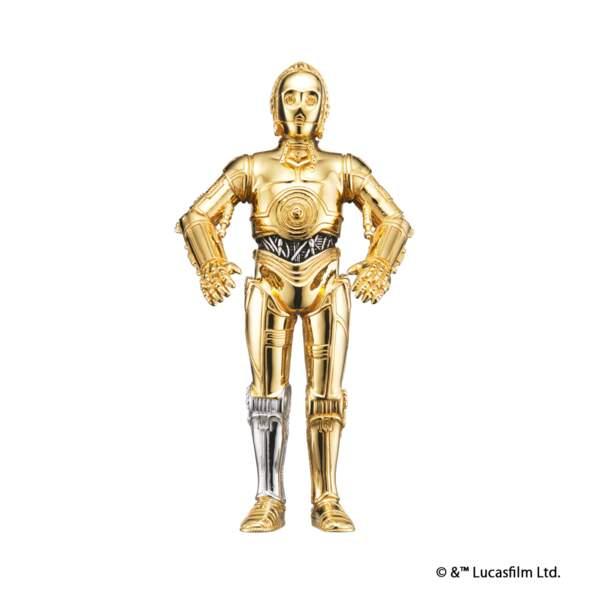 Le collier C-3PO. Heureusement, il ne parle pas ! Environ 360€