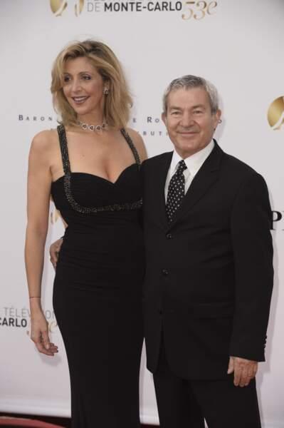 Martin Lamotte et sa femme Karine.