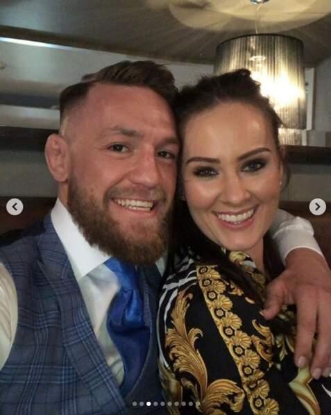 """Conor McGregor, le boxeur, souhaite une excellente Saint-Valentin à sa """"reine"""" !"""