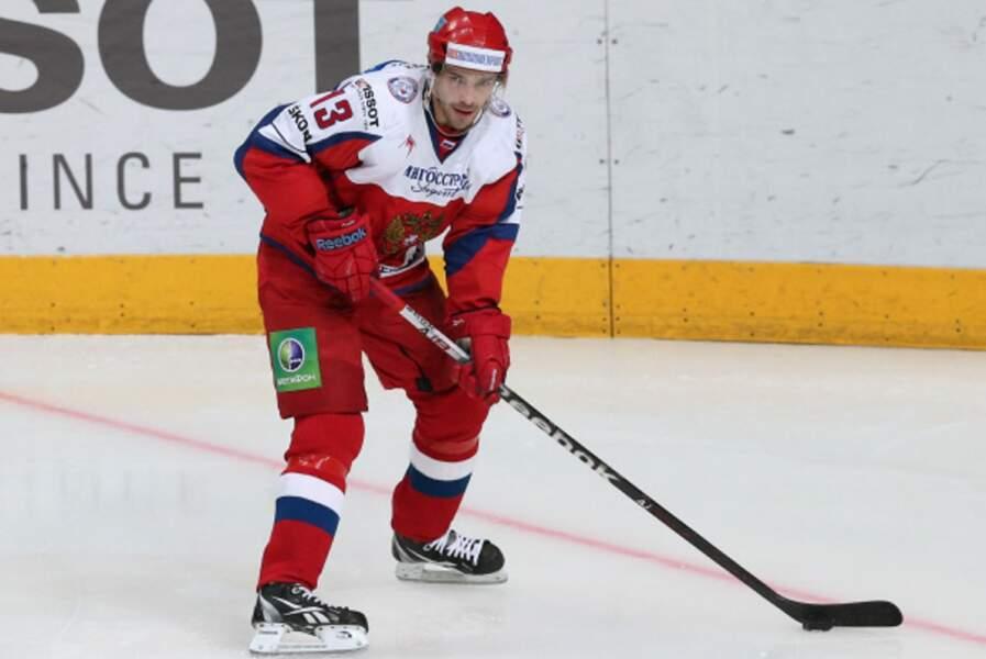 Pavel Datsyuk, le capitaine de l'équipe russe