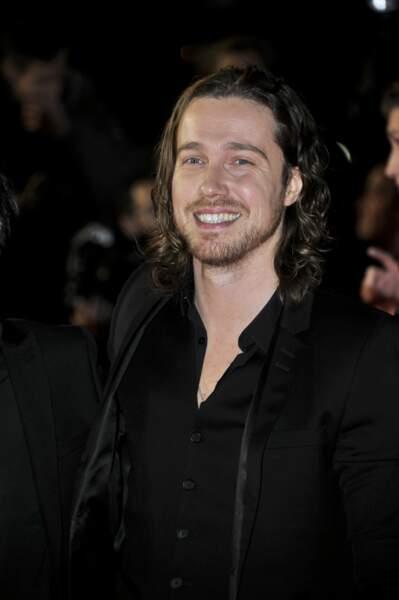 Julien Doré sur le tapis rouge des NRJ Music Awards