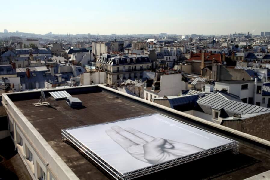 Le toit du Grand Rex, à Paris