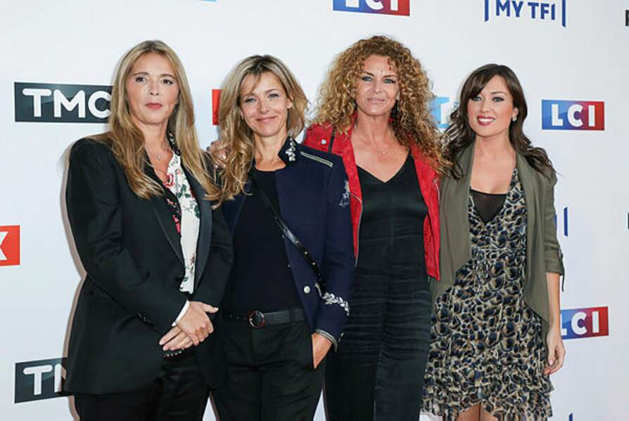 Hélène, Laure, Manuela et Elsa... la team des Mystères de l'amour était au rendez-vous !