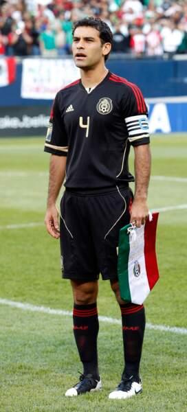 Le défenseur de l'équipe mexicaine, Rafael Márquez, 35 ans