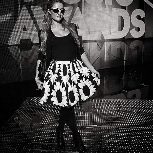 Paris Hilton aux NRJ Music Awards