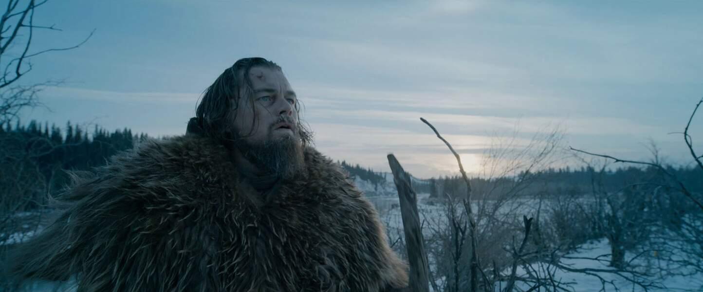 En février 2016 dans The Revenant : une prestation qui pourrait lui valoir (enfin) l'Oscar ?