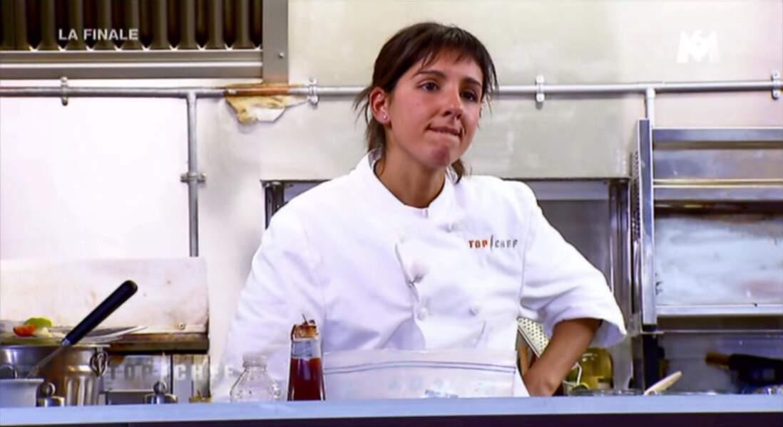 """""""C'est la fin de Top Chef, c'est fini"""", assure Naoelle, toujours très optimiste."""