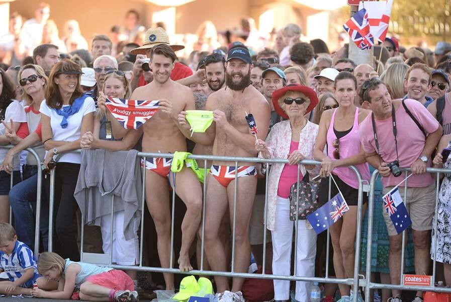 Sympa, des Anglais ont fait le déplacement ! Malaise...