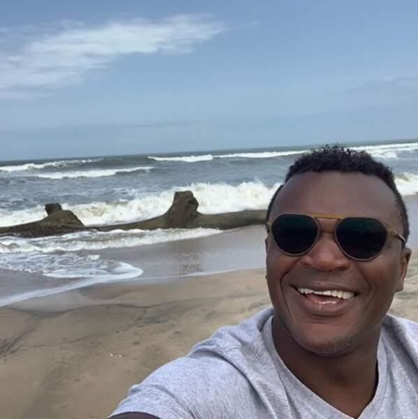 La vue derrière Marcel Desailly au Ghana n'était pas mal du tout.