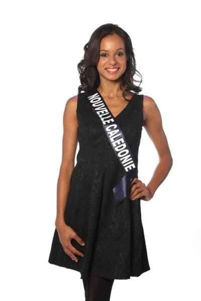 Agnès Latchimy, Miss Nouvelle-Calédonie 2013