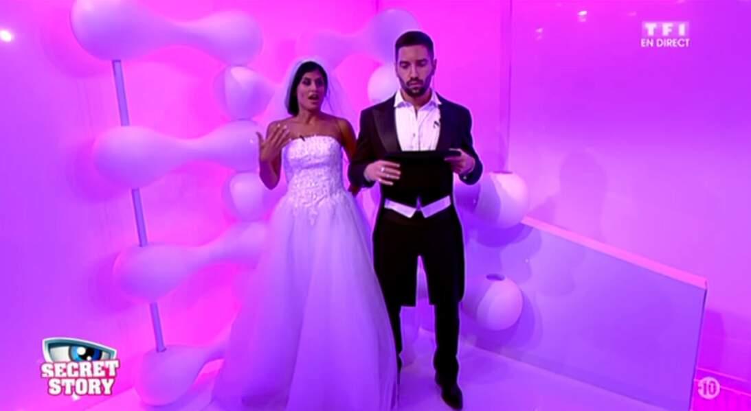 Jessica et Stéphane se sont mariés à Las Vegas