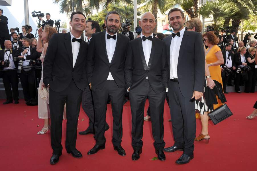 """La montée des marches pour """"Youth"""", le 20 mai 2015 au Festival de Cannes."""