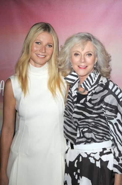 Gwyneth Paltrow et sa maman, également actrice, Blythe Danner.