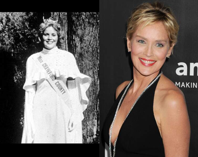 Sharon Stone a été Miss Crawford Country puis Miss Pennsylvanie en 1975 !