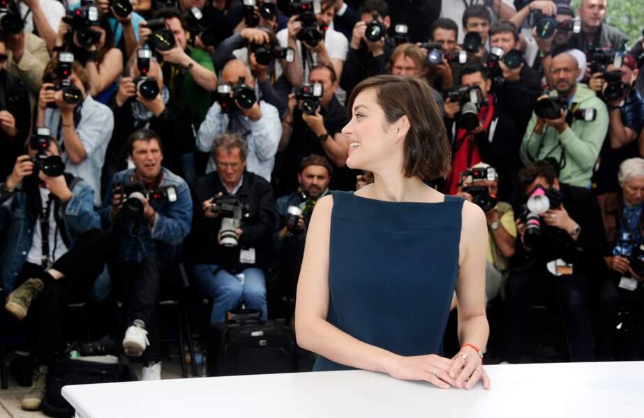 Décidément, elle attire les photographes Marion !