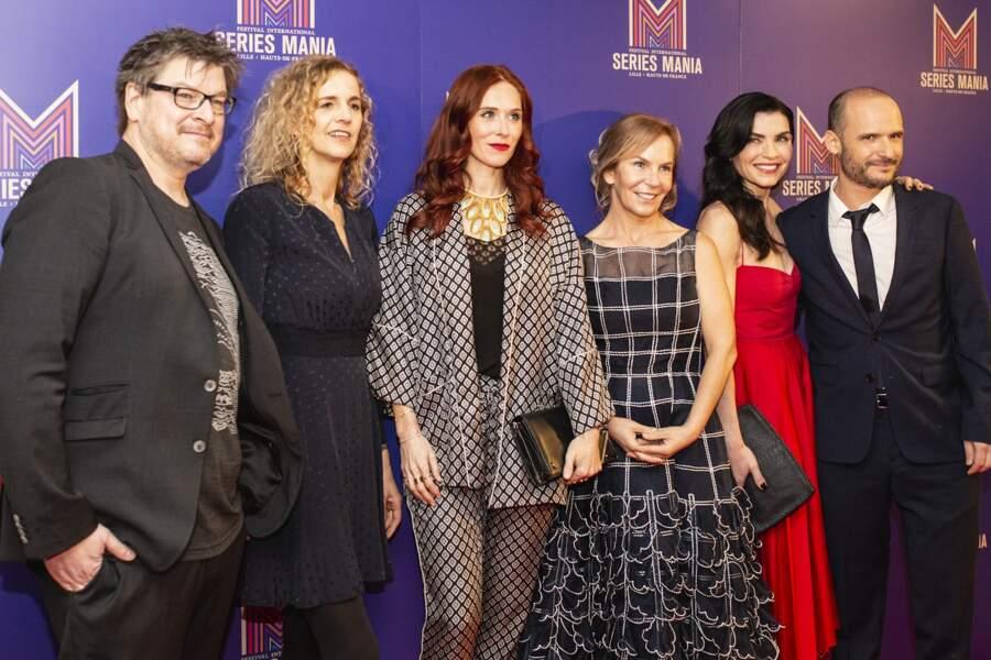 Le jury de Séries Mania s'est mis sur son 31 pour le commencement des festivités à Lille