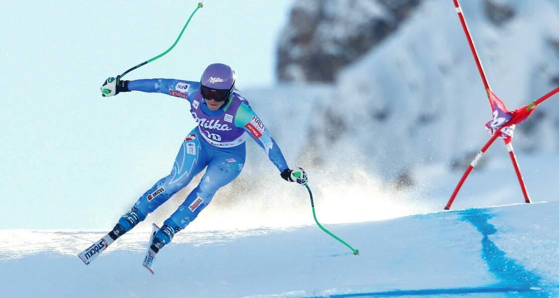 Tina Maze, l'icône slovène du slalom géant et du Super-G