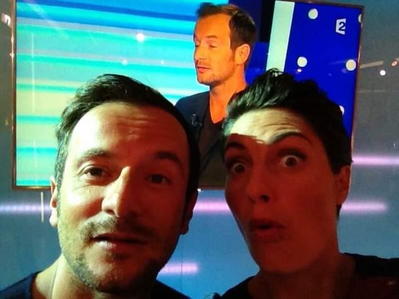 Alessandra Sublet et Jérémy Michalak font les idiots