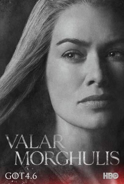 Lena Headey incarne Cersei Lannister, promise à Loras Tyrell
