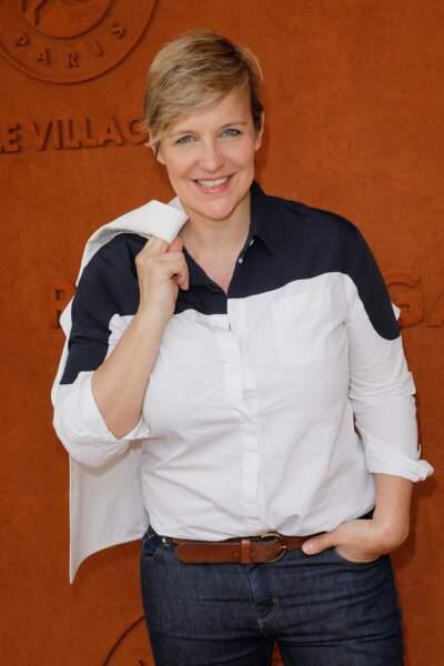 La journaliste de France Télévisions Céline Géraud était évidemment de la partie