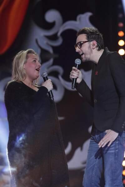 Christophe Willem et Valérie Damidot