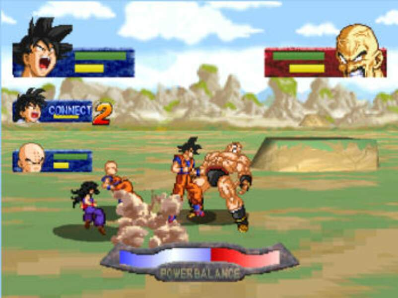 Dragon Ball Z : La Grande Légende des Boules de Cristal (1996 - Playstation & Sega Saturn)