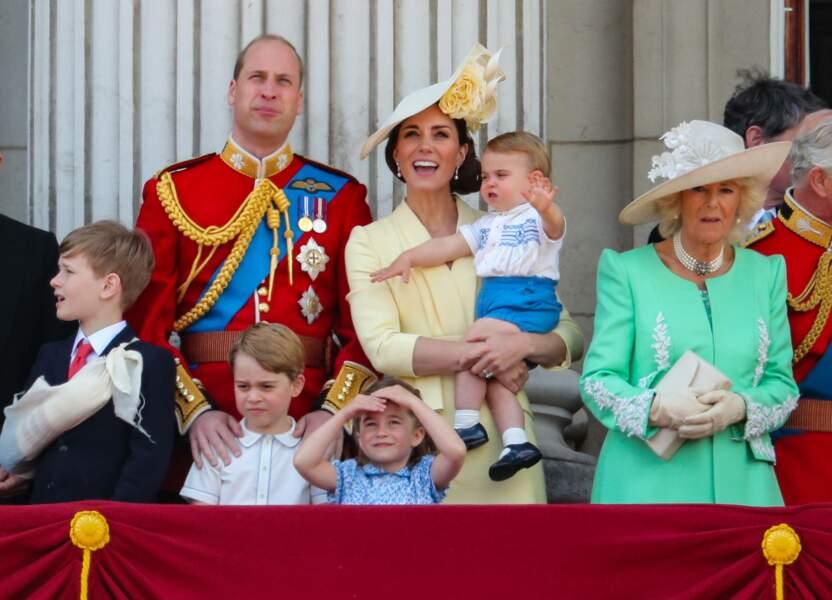 George, Charlotte et Louis, les royal babies de William et Kate, ont encore volé la vedette à tout le monde