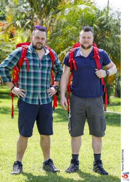 Thomas et Mathieu, les frères bucherons