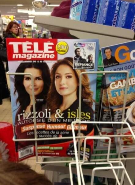 Tiens, Sasha fais ses courses chez Auchan !