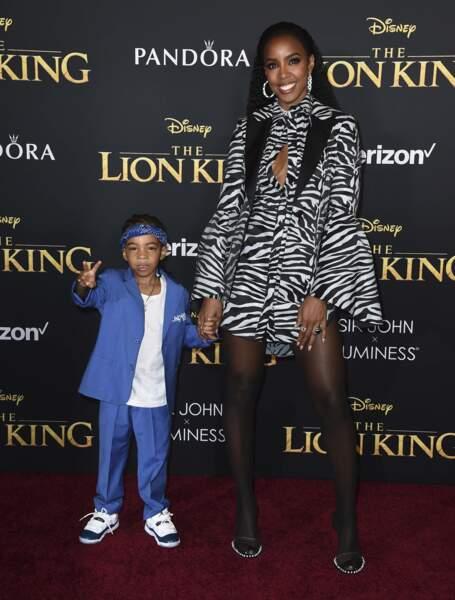 Kelly Rowland avec son fils, qui a déjà une classe folle !