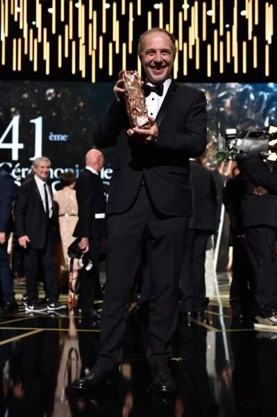 Arnaud Desplechin a reçu le trophée du meilleur réalisateur pour Trois souvenirs de ma jeunesse