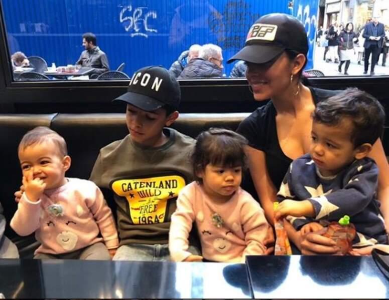 Georgina Rodriguez ne boude pas ses nombreux moments en famille