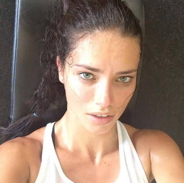 Adriana Lima est elle aussi dans la team transpi.