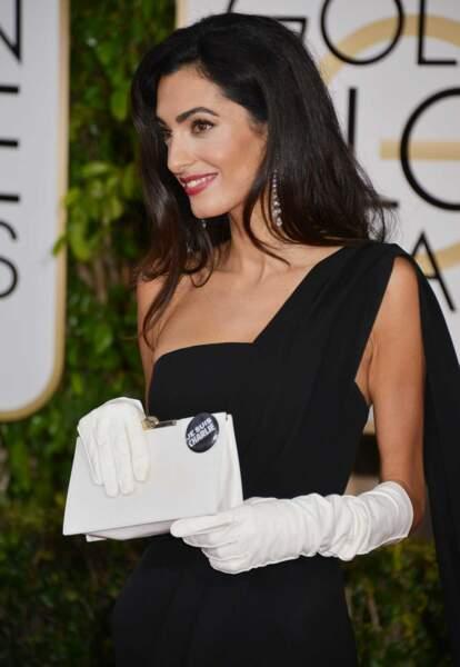 Amal Clooney, une vraie beauté. What else ?