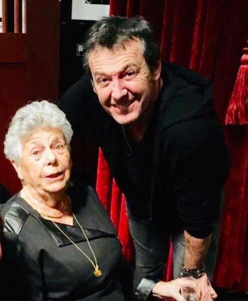 Jean-Luc Reichmann a reçu une invitée de marque dans les coulisses de son spectacle : Josette, sa maman.