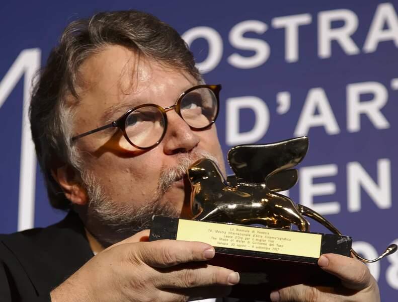 C'est Guillermo del Toro qui a reçu le Lion d'or du meilleur film pour The Shape Of Water