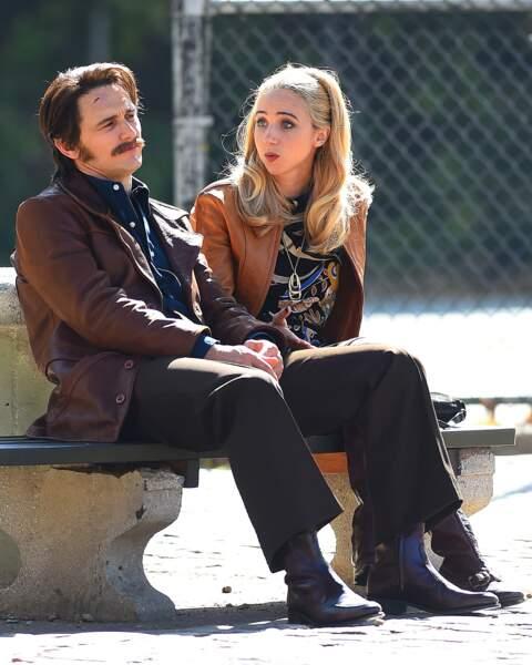 Ambiance cuir et moustache...