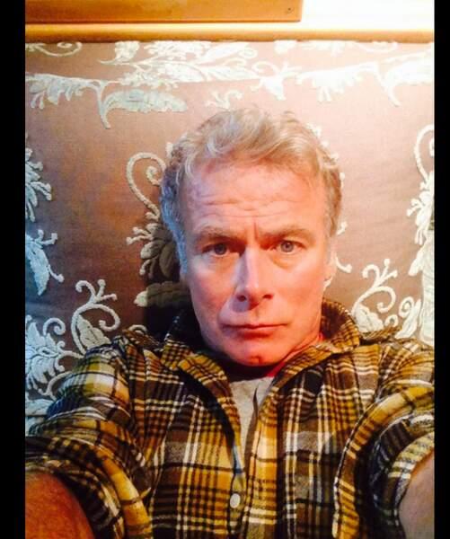 Du côté des selfies de la semaine, nous avons Franck Dubosc et sa chemise de bucheron !