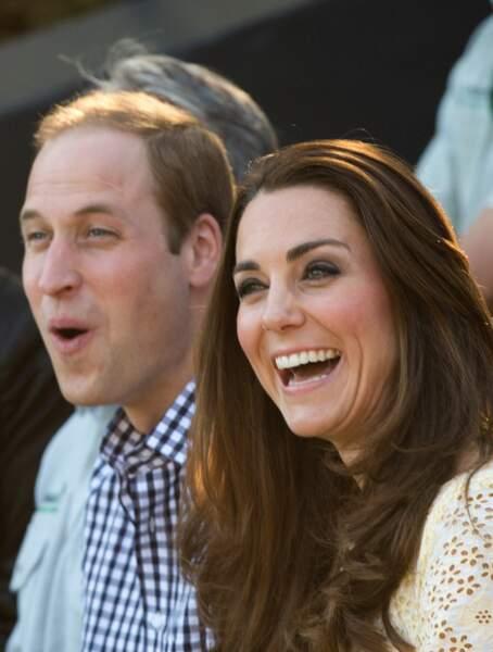 Kate et William se sont bien marrés pendant leur voyage...