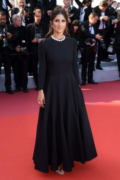 Géraldine Nakache était venue soutenir son frère Olivier Nakache, dont le film était présenté en clôture