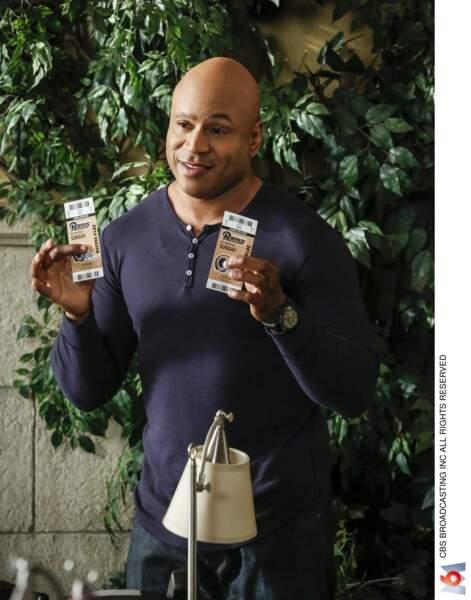 Quant à LL Cool J, la star de NCIS : Los Angeles, ses initiales sont pour Ladies Love Cool James