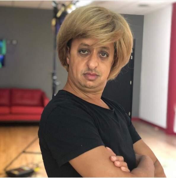 Angela Merkel ? Ah non, Booder.