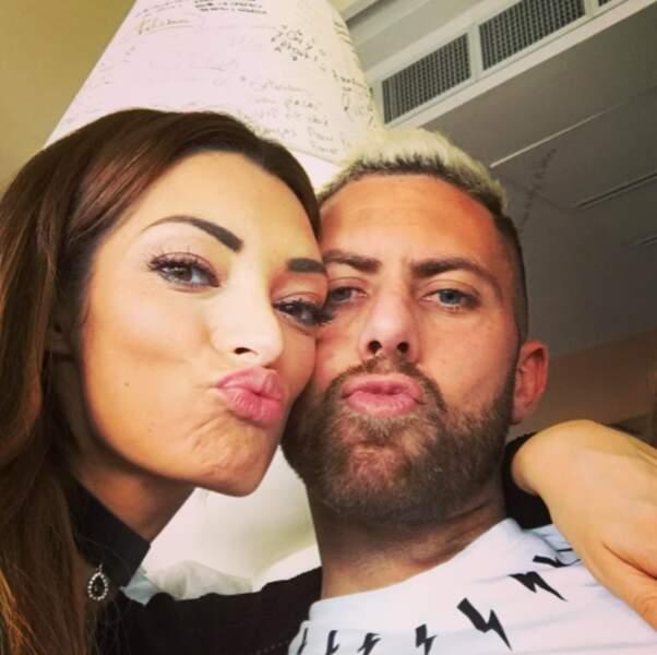 Emilie Nef Naf et Jérémy Ménez ont confirmé avec ce selfie qu'ils sont à nouveau en couple ! Félicitations !