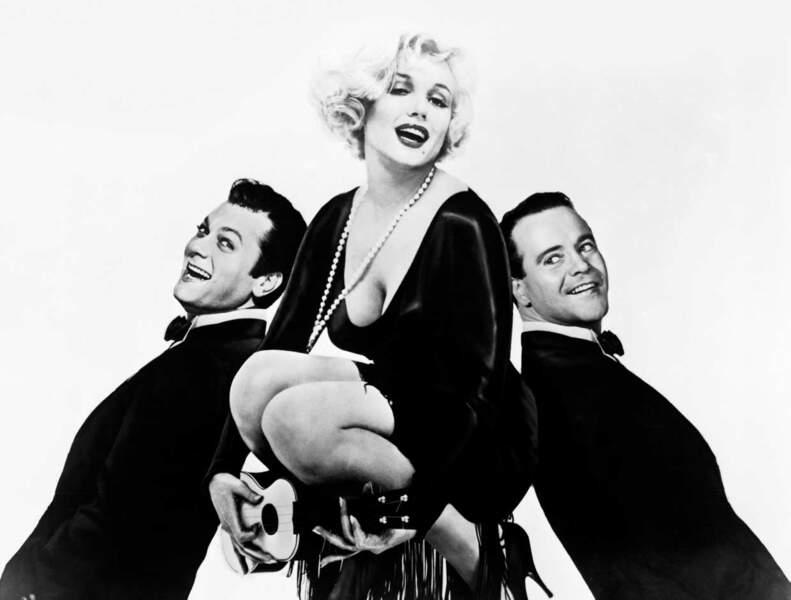 """Marilyn, Tony et Jack ! Trio de choc dans """"Certains l'aiment chaud"""""""