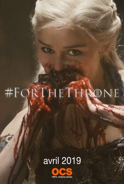 Pour son mariage avec Khal Drogo, Daenerys doit manger le cœur d'un cheval… Une scène qui nous a coupé l'appétit