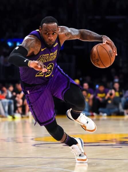 Au basket aussi on est fan de tatouages, à l'instar de LeBron James