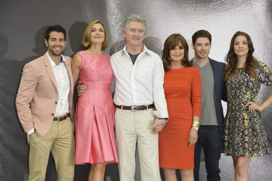 Le cast de Dallas a donc pu fêter dignement le lancement de la nouvelle série sur TF1.